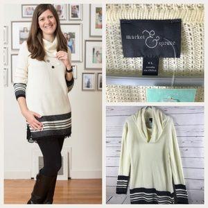 Stitch & Fix Market & Spruce Textured Pullover XL